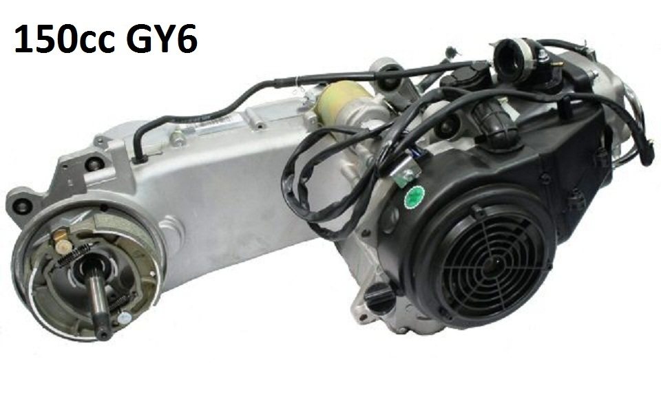 Zgy on Gy6 150cc Engine With Reverse