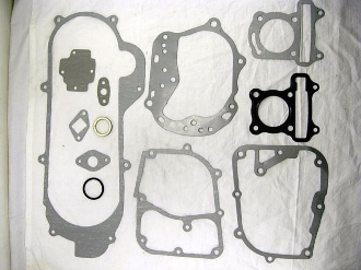 50cc GASKET KIT FOR CHINESE SCOOTERS WITH 50cc 39mm BORE QMB139