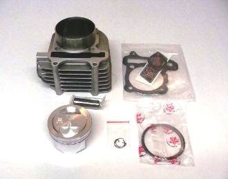 TAIDA HIGH PERFORMANCE GY6 CYLINDER SET 65mm WITH PISTON & RINGS