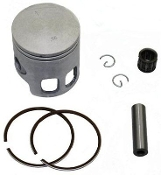 50cc PISTON & RING SET 40mm / 10mm PIN JOG, MINARELLI, YAMAHA