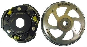 Dr. Pulley HiT Clutch 60 Degree with Bell for 150cc Scooters