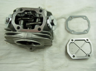 125cc CYLINDER HEAD FOR CHINESE ATVS, AND DIRT / PIT BIKES