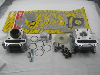 60CC BIG BORE KIT FOR SCOOTERS WITH 50cc QMB139 MOTORS WITH 64mm