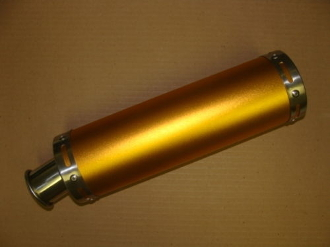 150CC HIGH PERFORMANCE (GOLD) EXHAUST MUFFLER & PIPE SYSTEM