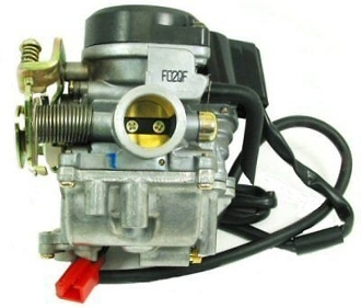 HIGH PERFORMANCE 20mm CARBURETOR FOR CHINESE SCOOTERS WITH 50cc
