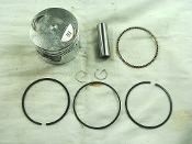 CG150cc PISTON AND RINGS FOR 162FMJ-5 HONDA CLONE MOTORS