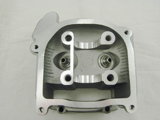 50cc CYLINDER HEAD WITH NO VALVES FOR SCOOTERS WITH QMB139 MOTOR