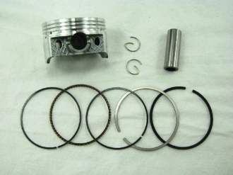 180cc PISTON AND RING SET (63mm) FOR CHINESE SCOOTERS