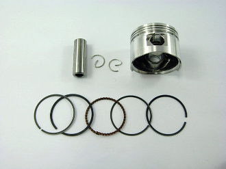 60cc PISTON and RINGS (44mm) FOR SCOOTERS WITH 60cc QMB139 MOTOR