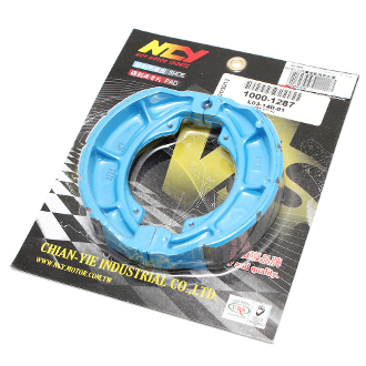 NCY PERFORMANCE BRAKE SHOES FOR SCOOTER WITH GY6 150cc MOTORS