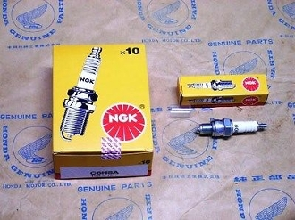 NGK C6HSA SPARK PLUGS FOR SCOOTER WITH GY6 150cc OR QMB139 50cc