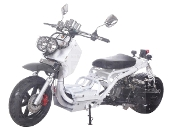 50cc MADDOG SCOOTER (WHITE) THIS PRICE IS FOR LOCAL PICK UP