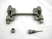 Chain breaker / rivet remover tool for 420 thru 428 chain