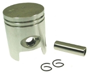 50cc Piston Set for 2-stroke 1PE40QMB Jog (10mm wrist pin)