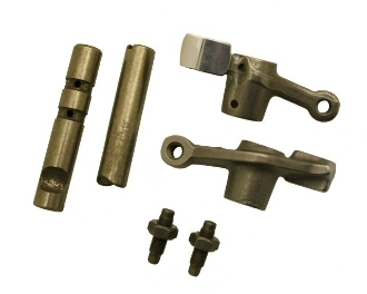 180cc ROCKER ARM SET FOR GY6 POWER BLOCK 80.5mm DIAGONAL SPACING