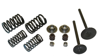 180cc VALVE SET FOR GY6 POWER BLOCK 80.5mm DIAGONAL BOLT SPACING