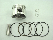 125cc PISTON AND RINGS FOR CHINESE ATVS and DIRT / PIT BIKES