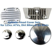 125cc CYLINDER HEAD COVER SET FOR E-22 CLONE MOTORS