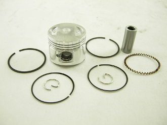 150cc PISTON and RINGS (57mm) FOR SCOOTERS WITH 150cc GY6 MOTORS