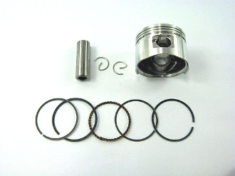 80cc PISTON and RINGS (47mm BORE) FOR QMB139 BIG BORE MOTORS
