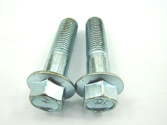 M10 x 40mm FLANGE BOLTS 2 PIECES FOR SCOOTERS, ATVS, DIRT BIKES