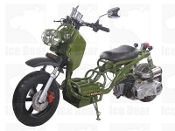 150cc MADDOG SCOOTER ARMY GREEN THIS PRICE IS FOR LOCAL PICK UP