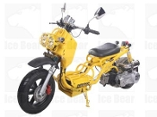 150cc MADDOG SCOOTER YELLOW THIS PRICE IS FOR LOCAL PICK UP