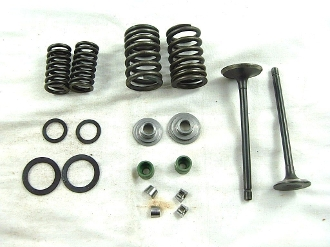 Valve Assembly for CG 150cc Air Cooled ATV & Dirt Bikes 162FMJ-5