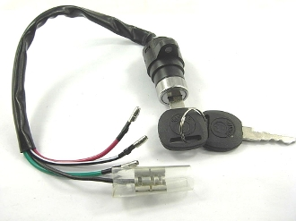 IGNITION SWITCH WITH KEYS # 11 FOR ATVS AND KARTS