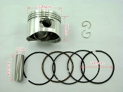 110cc PISTON AND RINGS FOR CHINESE ATVS, AND DIRT WITH E22 MOTOR