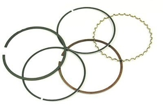 80cc PISTON RINGS (47mm) FOR SCOOTERS WITH 80cc QMB139 MOTORS