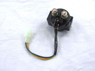 SOLENOID SWITCH RELAY FOR SCOOTER WITH GY6 150cc or 50cc MOTORS