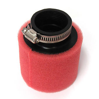 HIGH PERFORMANCE 38mm FOAM AIR FILTER FOR 50cc SCOOTERS