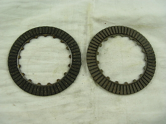MANUAL CLUTCH FRICTION PLATES FOR CHINESE DIRT / PIT BIKES E-22