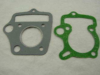 50cc CYLINDER AND HEAD GASKET FOR CHINESE ATVS AND DIRT BIKES