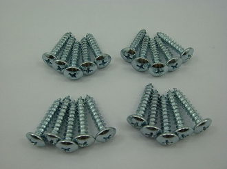 4.8mm x 25mm 20 PIECE SCREW SET FOR CHINESE SCOOTERS, ATVS