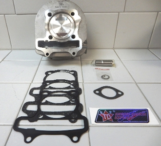 TAIDA 180cc GY6 CYLINDER SET WITH 63mm FORGED PISTON & RINGS S54